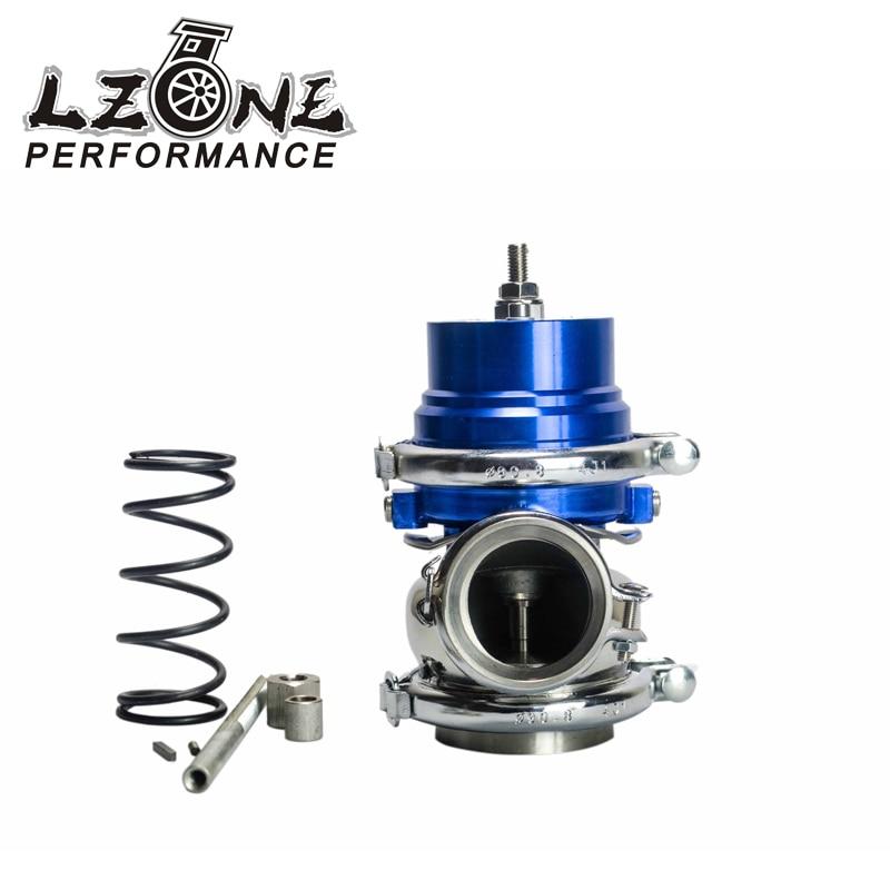 цена на LZONE RACING - BLUE Turbo wastegate 50mm Adjustable series Wastegate 50mm wastegate with Spring JR5801B