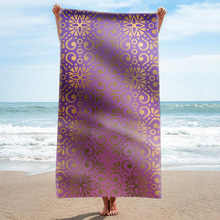 GNORRIS Custom Sand Free Microfiber Bohemia rectangle Beach Towel Blanket - Quick Dry Super Water Absorbent Yoga mat