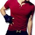2016 м-5xl новые люди летом с коротким рукавом футболки хомбре майки топы мужская свободного покроя мода пригодности жестких мужчин стиль футболки