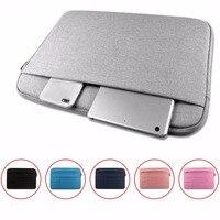 Universele Laptop Tassen Sleeve Notebook case voor MacBook 11.6 12 13 14 15 15.6 inch Soft Cover Waterdicht