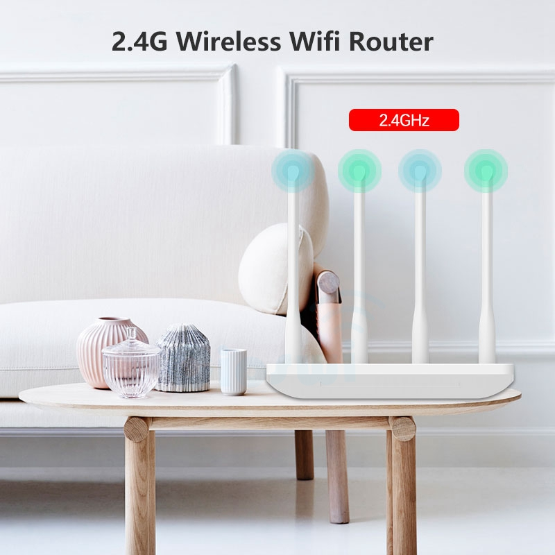 Image 3 - 300mbps Long range wifi router for home/apartment mobile router wi fi wireless access point 2.4ghz MTK7628 chip strong signal-in Wireless Routers from Computer & Office