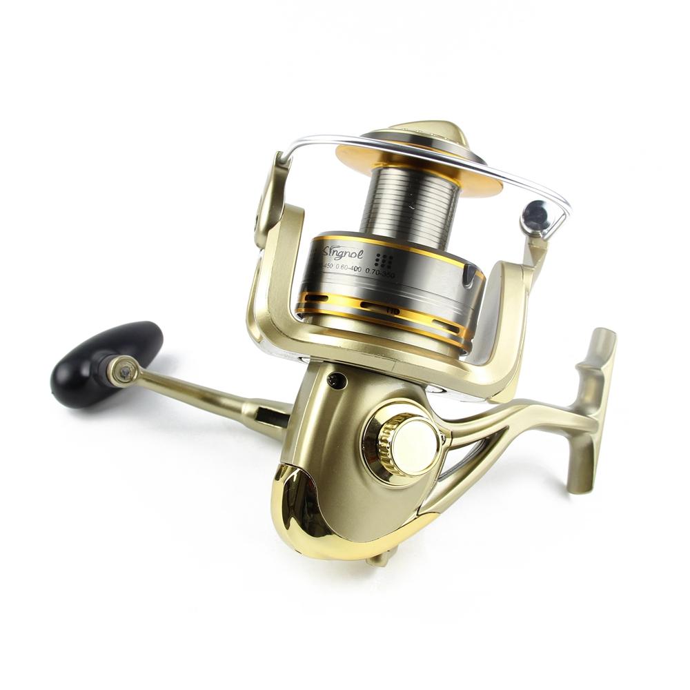 Cheap 8000 9000 10000 11000 Spinning Reel Fishing 11BB Max Drag 12KG Saltwater Sea Big Spinning Fishing Reel Moulinet Wheel  (3)