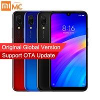 Global Version Xiaomi Redmi 7 3GB 32GB Mobile Phone Snapdragon 632 Octa Core 12MP AI Dual Camera 6.26 HD Screen 4000mAh CE FCC