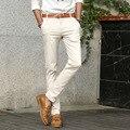 2017 New Arrival Men Pants Slim fit Men Casual Pant Korean version skinny Design Men Trousers Top Quality pantalon homme