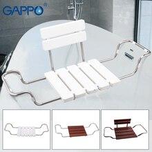 GAPPO настенные душевые сиденья для ванной, скамейка для душа, складное кресло, душевые стулья, инструменты для ванной комнаты