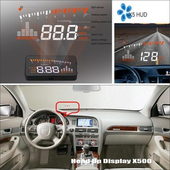 For Audi A6 C6 RS6 2005~2009 - HUD Head Up Display - Safe Driving Screen Projector vehicle Refkecting Windshield