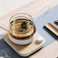 Mingzhan MZ 072T 3In1 Tea Making Machine 700W/ 500ML Electric Tea Pot Tea Boiler Kitchen Electric Water Kettle With Base