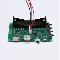 5 вт + 5 вт с Bluetooth мощность усилителя совета pam8403 5 в стерео Сделай сам усилитель для USB 18650 батарея мощность 2 канал mayitr