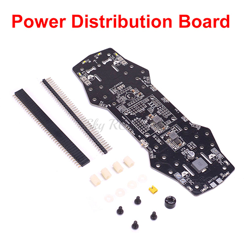 QAV250 ZMR250 Quad Frame Carbon Fiber Drone Mini 250 FPV Quadcopter kit Power Distribution Board PDB 5V 12V BEC Buzzer LED OSD