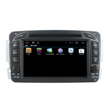 For Mercedes W203 car dvd player GPS with android4.4 quad-core cortex A9+3G+Wifi+Radio+BT phonebook+Ipod list +USB+SWC+ATV+DVD