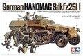 Tamiya модель 1/35 шкала военные модели # 35020 немецкий Hanomag sd. Kfz.251 / 1