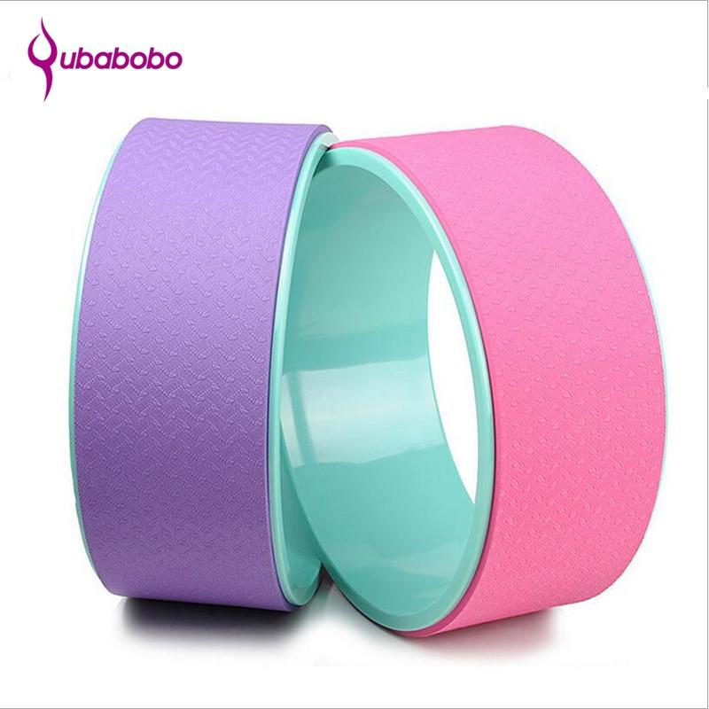 4 χρώματα TPE Γιόγκα Κύκλος Τροχός Pilates - Fitness και bodybuilding - Φωτογραφία 2