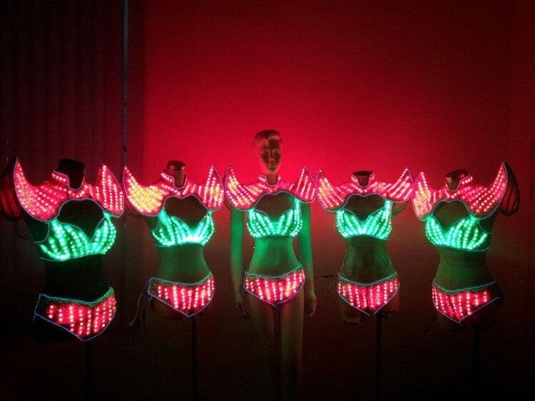 EL Products, светодиодные костюмы/световые костюмы, светодиодные фонари для костюмов/одежда со светодиодной подсветкой/женская одежда со светод