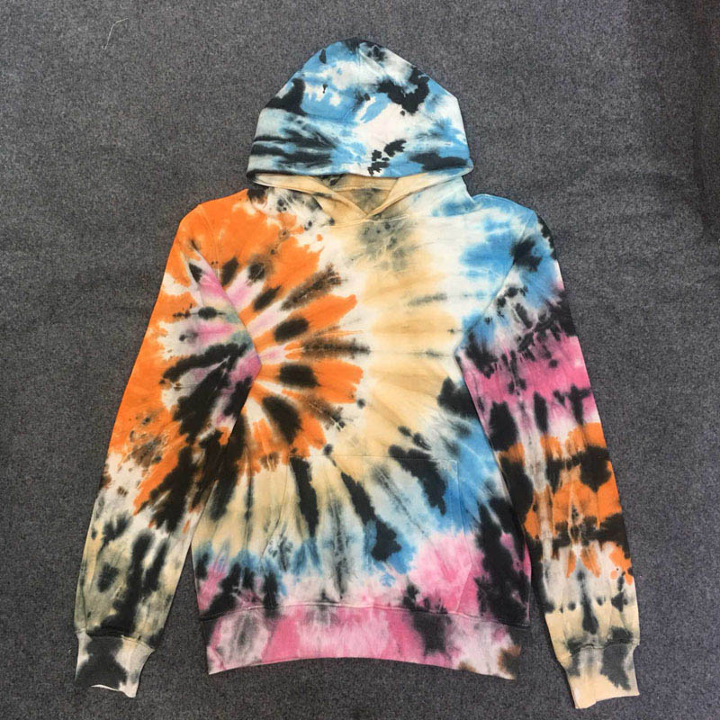 Travis Scott ASTROWORLD Women Men Hoodies 1:1 Cactus Jack Airbrushed Tie dyeing