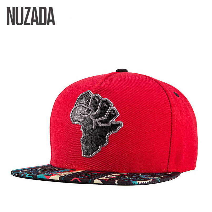 Brands NUZADA Men Women Baseball Caps Bohemian Pattern Snapback Bone Hats Hip Hop PU Leather Ventilation Holes Cap brand nuzada snapback summer baseball caps for men women fashion personality polyester cotton printing pattern cap hip hop hats