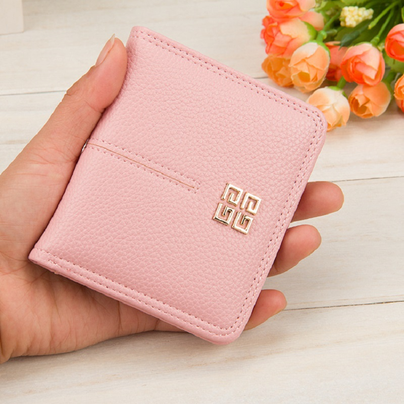 Newest styles Ms.fashion short Coin Purses women's zipper wallet Free Shipping 808#