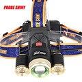 15000LM alta Qualidade Zoom 3X XM-L T6 LED Recarregável 18650 Farol de Luz Da Tocha