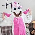 Envío gratis Unisex hot Onesie pijamas adultos azul unicornio rosa Anime Cosplay Costume Onesie de dormir Onesie outlet tamaño M LXL