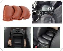 Auto części wewnętrzne universal car akcesoria centralny podłokietnik box mat dla Lexus IS350 GS430 RX400h RX330 IS250 ES330 tanie tanio Podłokietniki 2019 hollow cotton PU surface Enjoy your comfortable driving time 0 145kg (0 32lb ) 5cm x 4cm x 5cm (1 97in x 1 57in x 1 97in)