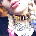 Harley Quinn  Suicide Squad Puddin Choker Necklace Leather Choker Black Punk Jewelry #92075