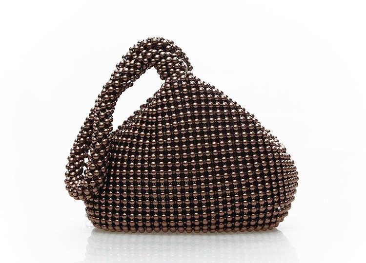 Nuevo  del color del caramelo bolsos de tarde de Lujo, totalizador de las mujere