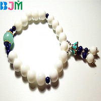 Natural White Tridacna Giant Clam Stone 10 16mm Beads Diy Materials Bracelet Necklace Earrings Making Jewelry