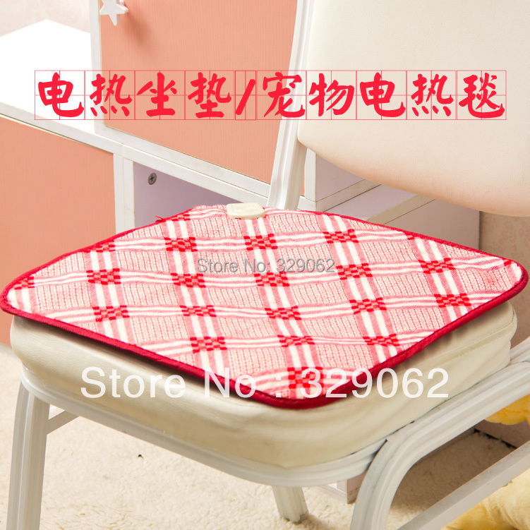 Aliexpress Buy Cartoon small electric heating blanket cushion office chair heated seat cushion pet heating pad from Reliable cushion pads