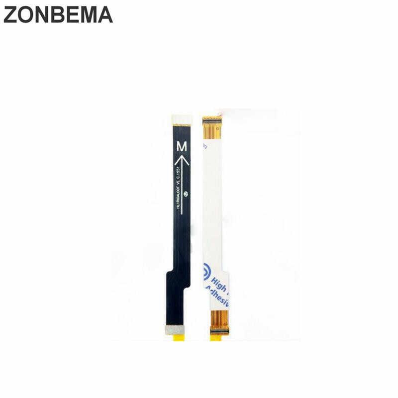 ZONBEMA Novo Original Motherboard Placa Principal Flex Cabo Conector Para Huawei Honor 8 G7 Plus MaiMang 4 LCD Conector