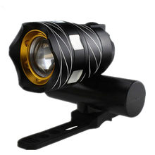 Bicycle Head Light Flashlight With 3 Modes Torch USB T6 LED Cycling Bike Rechargeable Bicycle Accessories Hot Sale(China)