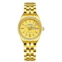 Switzerland Even numbered Days Night Light Ma'am Inlaid Watch High Archives Woman Fine Steel Wrist Watch