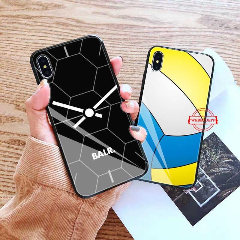 WEBBEDEPP BALR Coque โทรศัพท์กรณีสำหรับ iphone ของ Apple iphone XR X XS Max 6 6S 7 8 Plus 5 5S SE