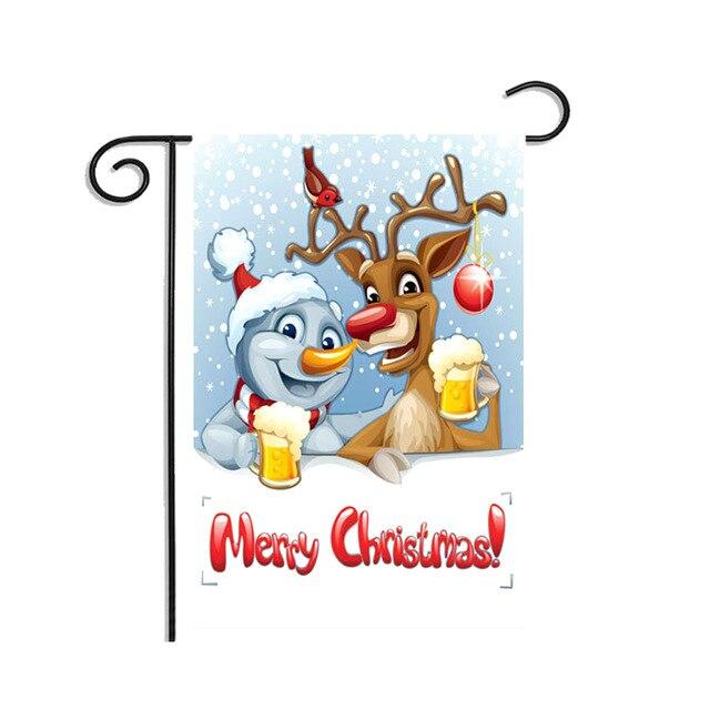 Deep Sapphire Outdoor snowman decoration 5c64ef1f45457