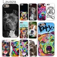 Lavaza Pitbull dog Hard Phone Case for iPhone XR X XS 11 Pro Max 10 7 8 6 6S 5 5S SE 4 4S Cover