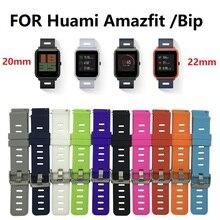 Silicone Sport Watch Band Alça de Pulso para Xiaomi Huami Amazônia Bip POUCO RITMO Lite Juventude Relógio Inteligente Pulseira De Substituição em estoque