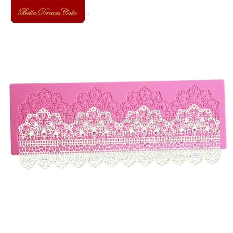 Cake Border Decoration Lace Mat Sugar Lace Pad For Wedding