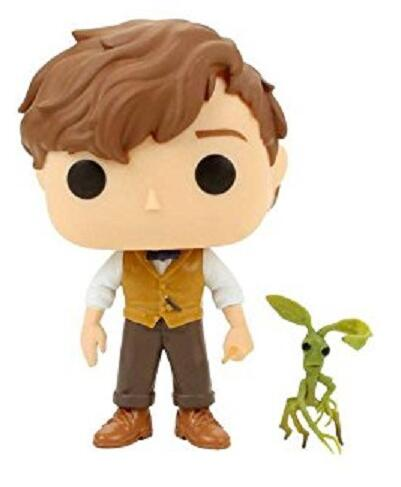 Fantastic Beasts and Where to Find Them 10cm NEWT with PICKETT 10 Figure Model Toys