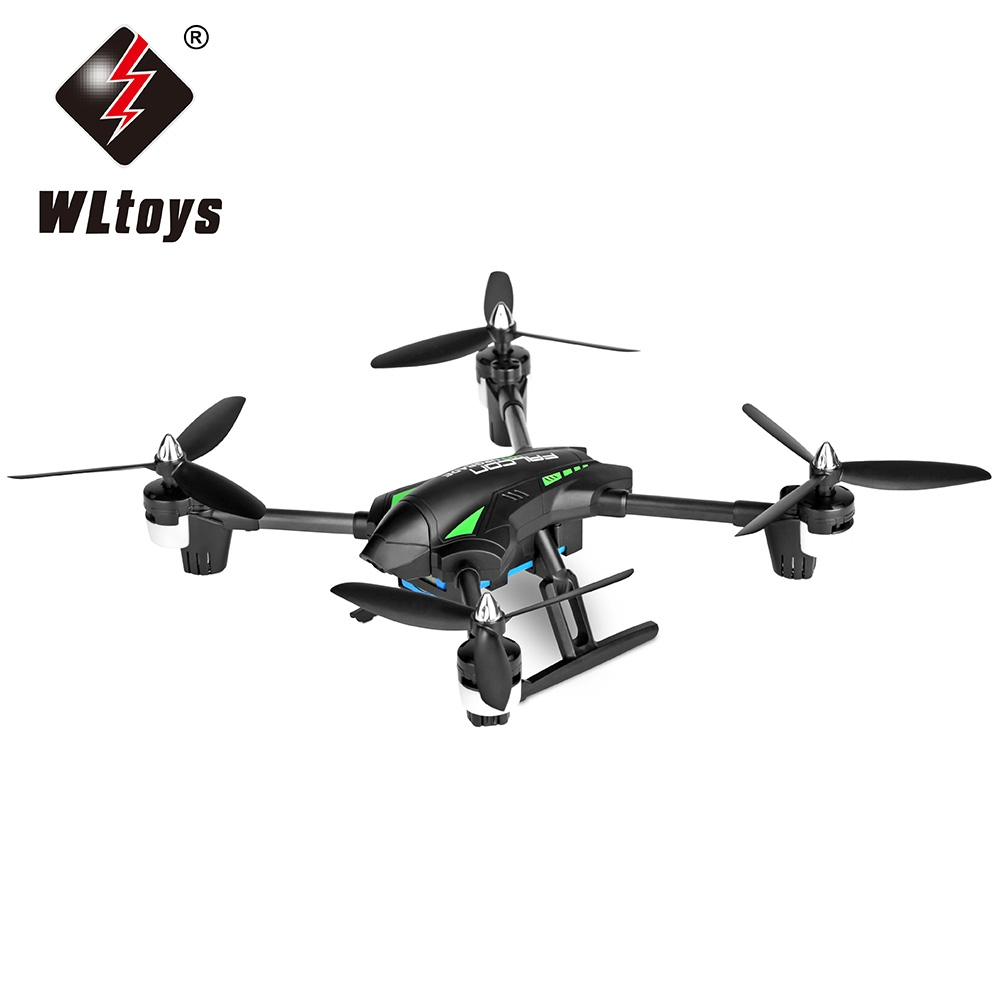 WiFi FPV 2.0MP CAM RC Drone Funny Outdoor Toys 2.4G 4CH 6 Axis Gyro Altitude Hold RC Quadcopter RTF Helicopter WLtoys Q323 - C