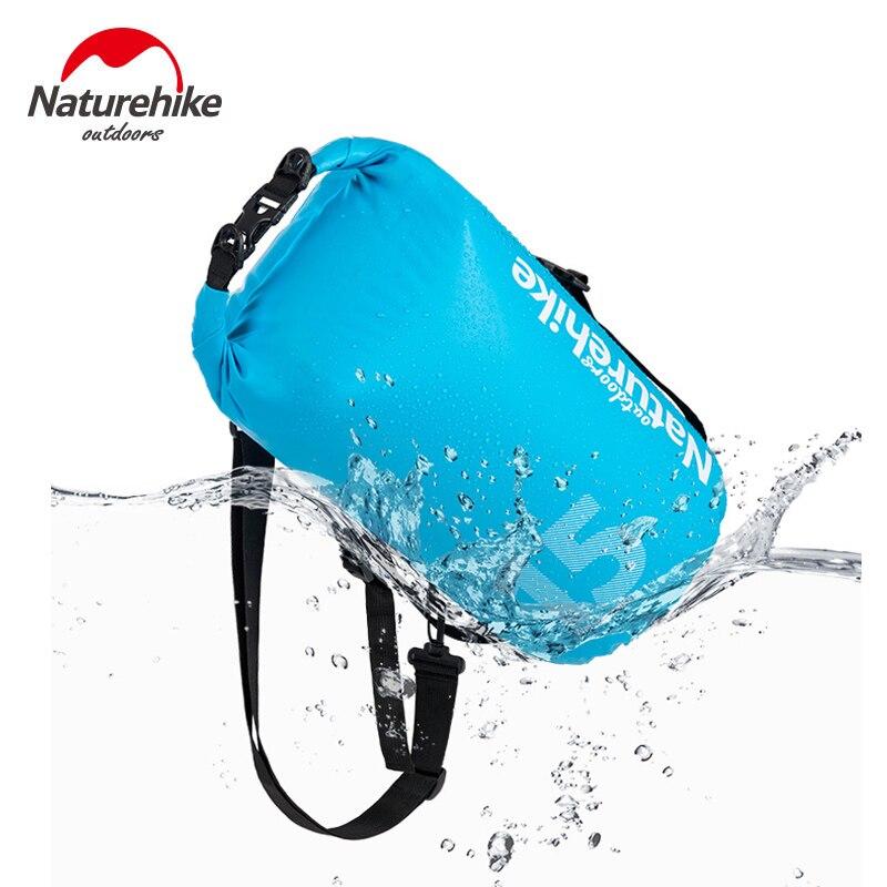 NatureHike Sac Étanche Dry Roll Top Dry Sack Garde du Matériel Sec pour Le Kayak Rafting Nautisme Randonnée Camping Pêche 10L 15L 25L