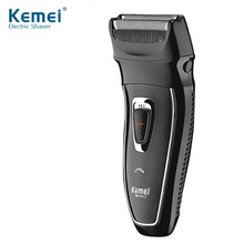 KEMEI Rechargeable Reciprocating Electric Shavers Floating Blade Heads Shaving Razors Face Care Men Beard Trimmer Barber Machine цена