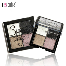 4 Color Eye shadow Pigments Palette Eye Makeup