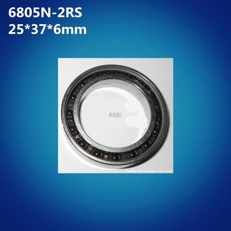 Free Shipping 1pcs Abec 5 6805n Hybrid Ceramic Bearing 25x37x6mm Bicycle Bb51 Bottom