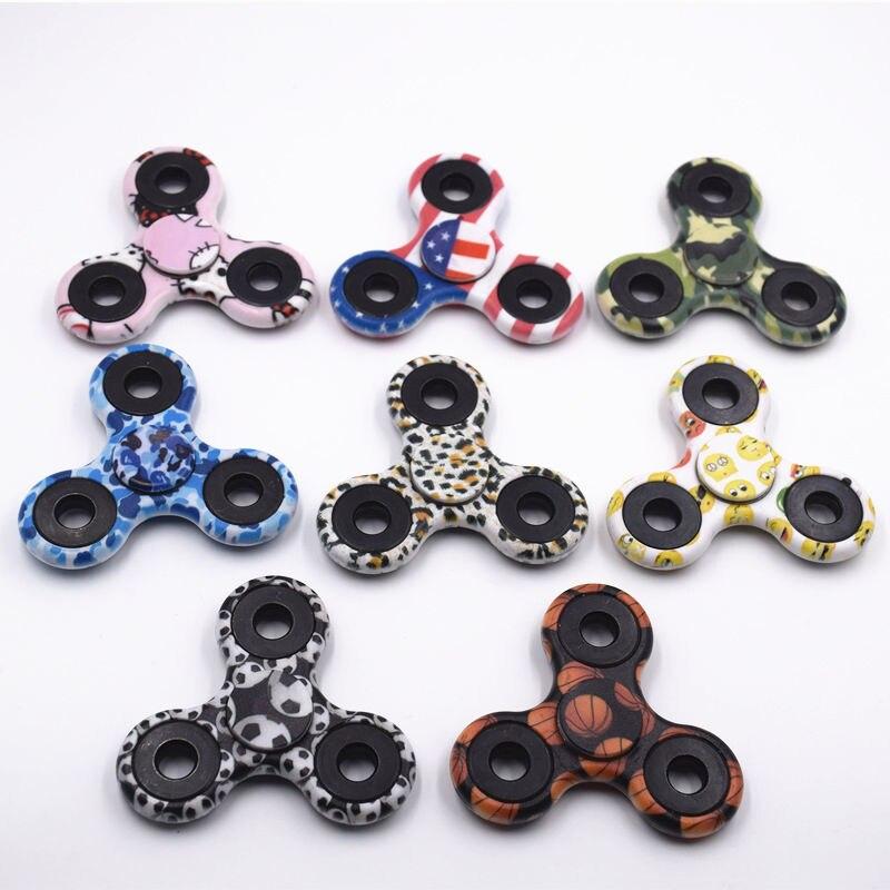 Última versión 11 estilo Fidget Spinner Spinner EDC Se Agita la Mano Para El Autismo y Aumentar la Concentración de TDAH Mantener Juguete