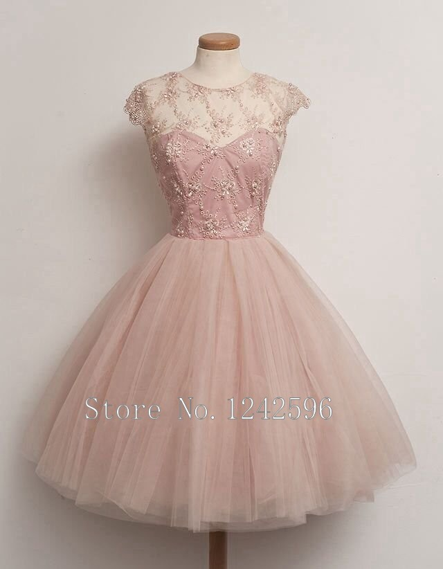 Compare Prices on Vintage Pink Cocktail Dresses- Online Shopping ...