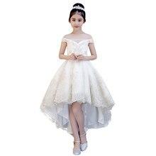 e5f5b0348ccd6 Appliques pour enfants sans épaule de luxe robe de bal robes de demoiselle  d honneur robes de soirée de mariage robes de premièr.