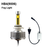 HB4(9006) LED Fog Lamps Automotive LED 9006 Cars Bulbs LED External Lights Golden Light High Power 20W DC 12 Voltage