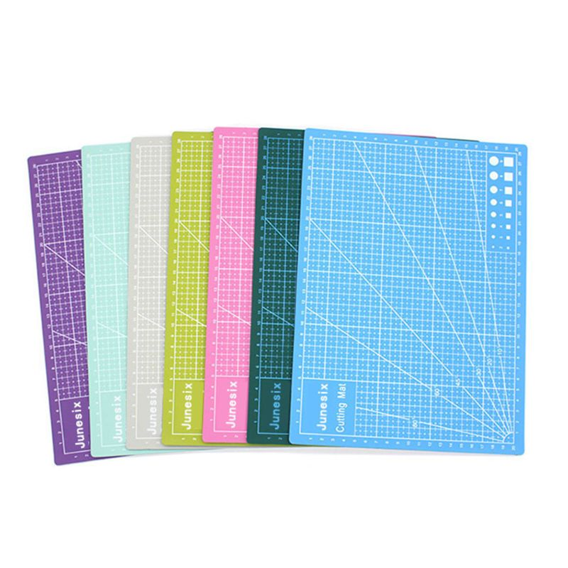 Multi-Purpose Model Cutting Pad Cutting Paper Cutting Board Rubber Stamp Engraving Mat Measuring Scale Board
