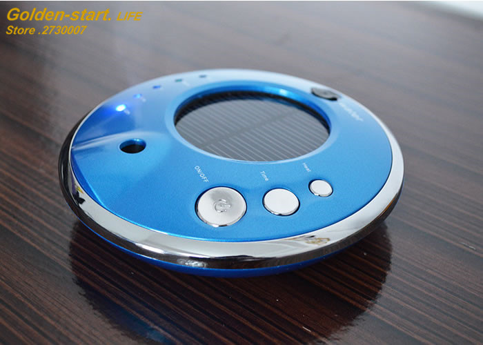 ФОТО New UFO Car Air Purifier Aromatherapy essential oil Dusting Diffuser Negative Ion Car Electronics Air Cleaner