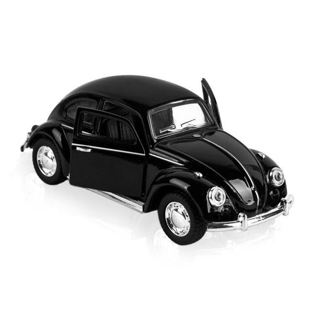 Yks Mini Auto Modèle Jouet De Voiture Vintage Convertible Pull Back