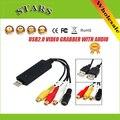 USB2.0 USB 2.0 видеокарта захвата граббер Адаптер чипсет STK1160 для ТВ VHS DVD для поддержки usb конвертер Windows 2000/XP
