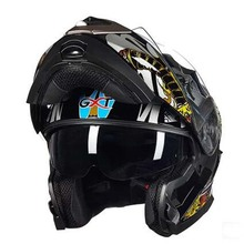 GXT casco de motocicleta GXT para hombre, doble lente, equipo abierto, cascos de motocicleta G 160, novedad de 2017